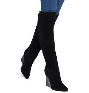 Brand New Sophy Wide Knee Boot